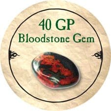 40 GP Bloodstone Gem