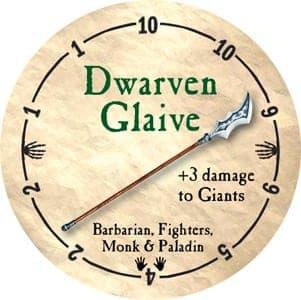 Dwarven Glaive