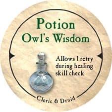 Potion Owl's Wisdom