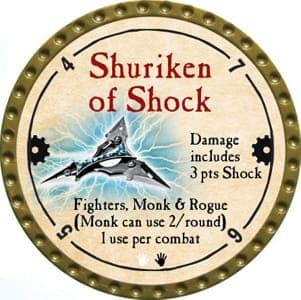 Shuriken Of Shock